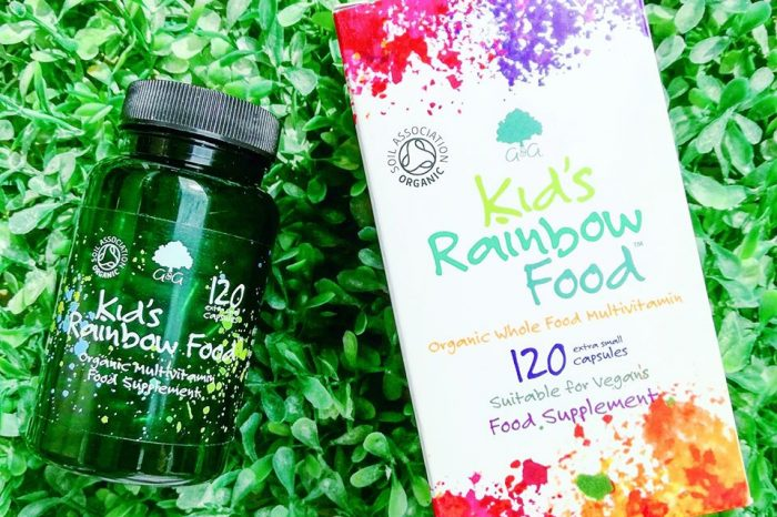 Kid's Rainbow Food