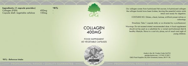 Collagen 400mg - 60 Capsules