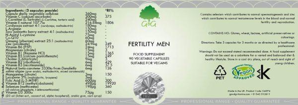 Fertility Men - 90 Capsules