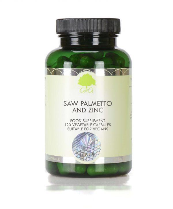 Saw Palmetto & Zinc - 120 Capsules