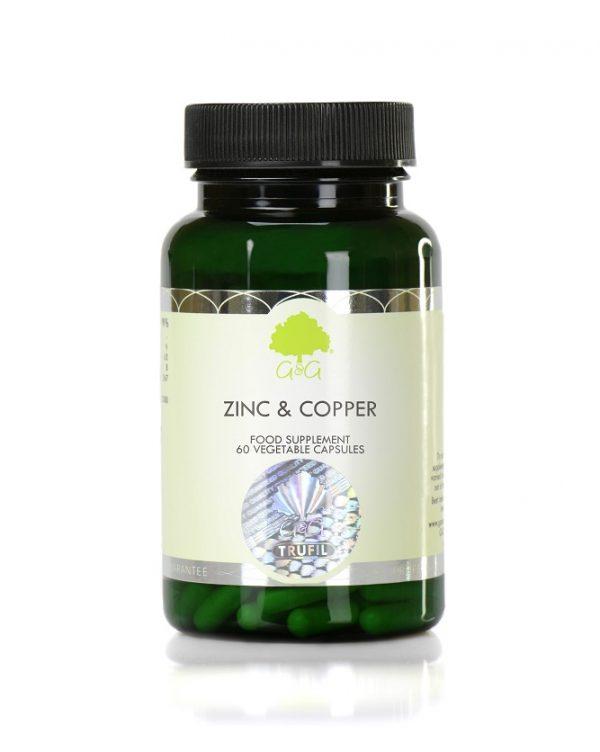 Zinc & Copper - 60 capsules
