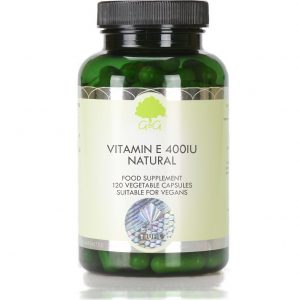 Natural Vitamin E 400iu - 120 Capsules