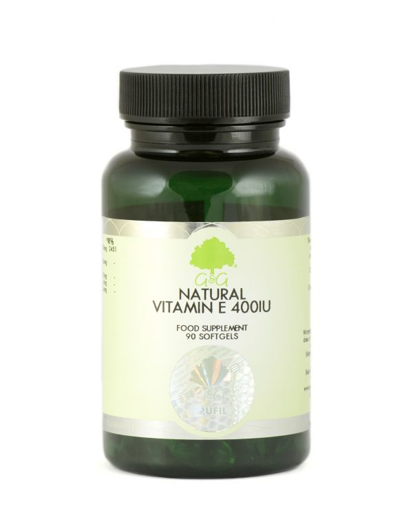 Natural Vitamin E 400iu - 90 Softgels