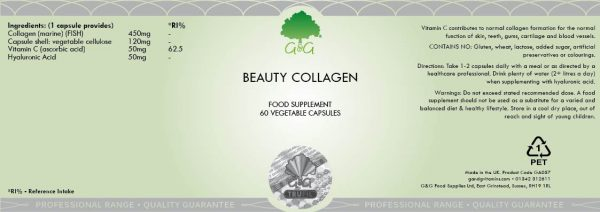 Beauty Collagen - 60 Capsules