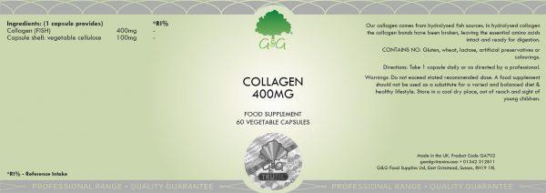 Collagen 400mg - 60 Capsules