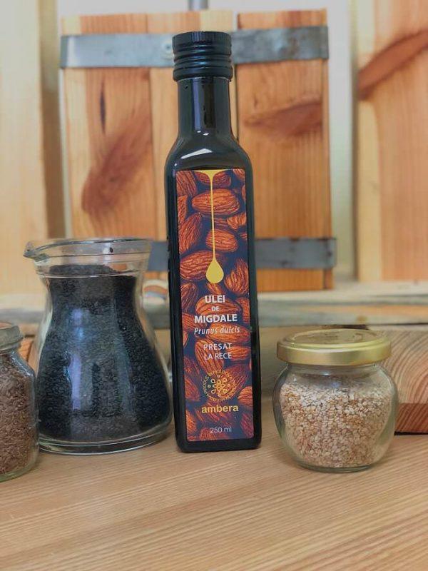 Миндальное масло холодного отжима (Ulei de Migdale) | Самые лучшие витамины со всего мира